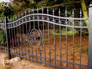 кованые заборы для парка