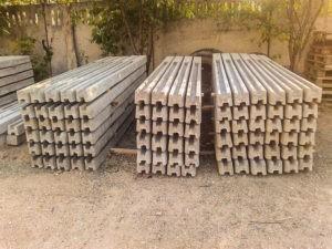 бетонные столбы для забора цена