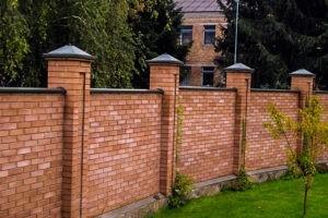 построить забор на даче под ключ цена