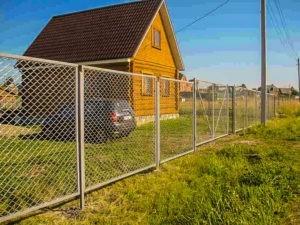 построить забор на даче под ключ цена в области и Москве