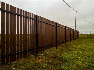 построить забор на даче под ключ стоимость