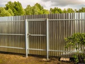 построить забор на даче под ключ цены