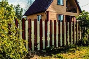 заборы из евроштакетника цена с установкой в Москве и области