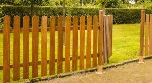 забор из дерева расценки