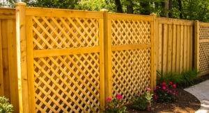 забор из дерева цена