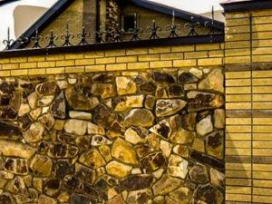 забор из камня расценки
