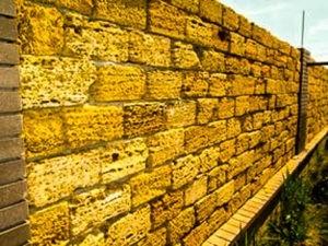 забор из камня цены