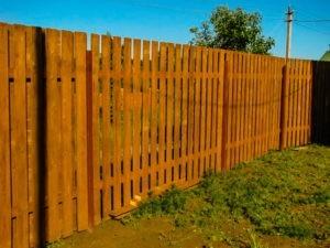 забор на дачу недорого с установкой в области
