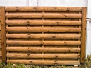 заборы из дерева стоимость