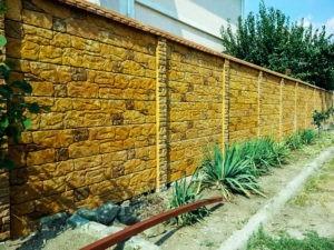 бетонный забор отзывы