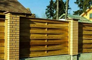 деревянный забор отзывы