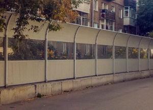 шумоизоляционный забор цена