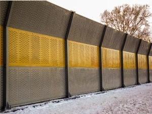 шумозащитные экраны цена за м2 в Москве