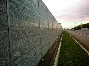 шумозащитные ограждения цена