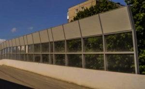 шумозащитные панели для автодорог