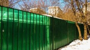 заборы в Коломенском районе цены