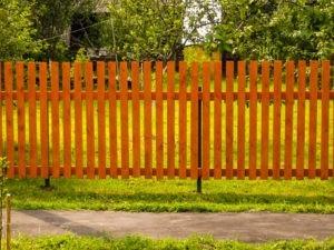 заборы в Одинцовском районе из дерева